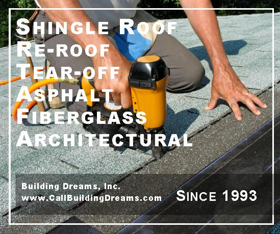Lake County Roofing | Building Dreams | Shingles