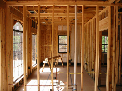 Framing & mechanicals on an Addition | Building Dreams